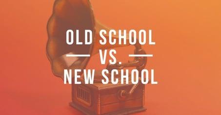 Old school vs new school #ljh17