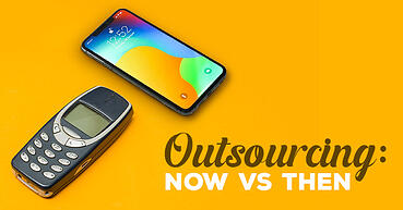 Outsourcing: now vs then