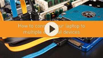 How to connect your laptop to multiple external devices
