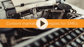 Content marketing examples for SMEs