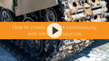 How to create content continuously with limited resources