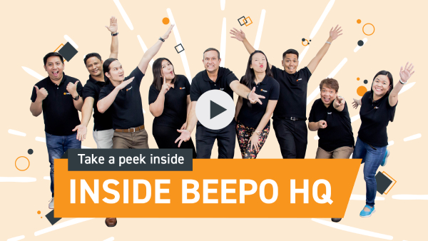 Take a peek inside with the staff Beepo