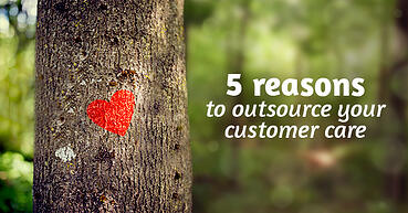 5 reasons to outsource your customer service