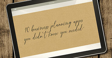 10 business planning apps you didn't know you needed