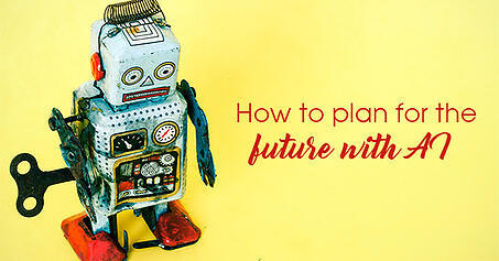 How to plan for the future with AI