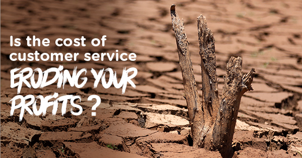 Is the cost of customer service eroding your profits_