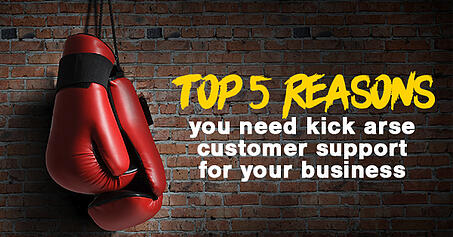 Top 5 reasons you need kick ass customer support for your business