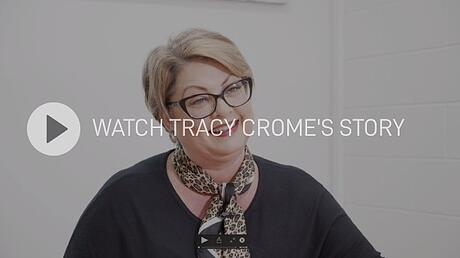 Watch Tracy Chrome's story