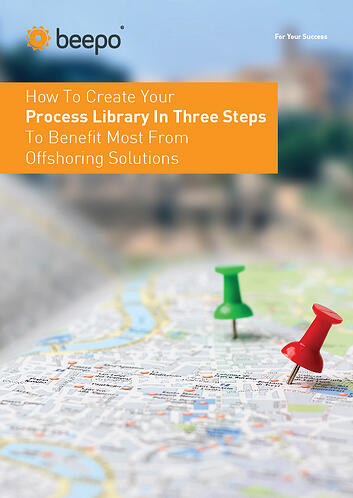 How To Create Your Process Library In Three Steps To Benefit Most From Offshoring Solutions resource education series pt2 Beepo