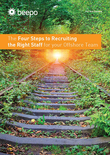 The Four Steps to Recruiting the Right Staff for your Offshore Team resource education series pt3 Beepo