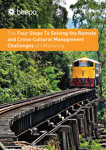 The Four Steps To Solving the Remote and Cross-Cultural Management Challenges of Offshoring resource education series pt5 Beepo