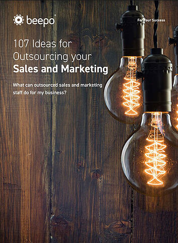 107 Ideas for Outsourcing Your Sales and Marketing resource ebook cover Beepo