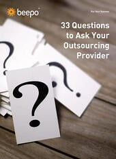 33 Questions for Outsourcing Providers