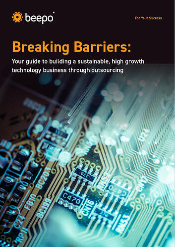 Breaking Barriers: Your guide to building a sustainable, high growth technology business through outsourcing resource ebook Beepo