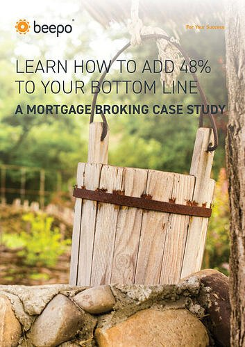 Mortgage Broking Case Study resource ebook cover Beepo