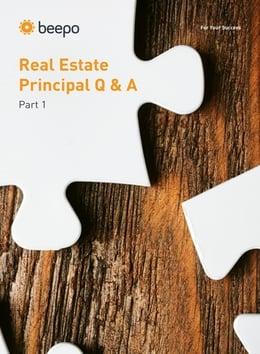 Real Estate Principal Q&A_cover2
