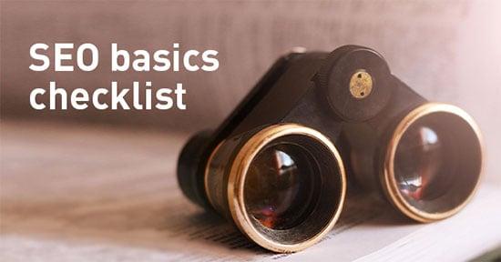 SEO basics checklist