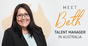 Meet Beth McConnachy, Talent Manager in Australia