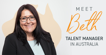 Meet Beth McConnachy, Talent Manager in Australia