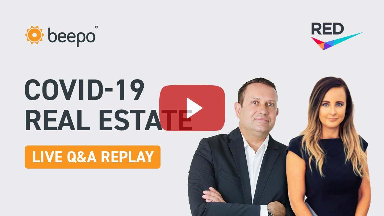 COVID-19 real estate live QandA