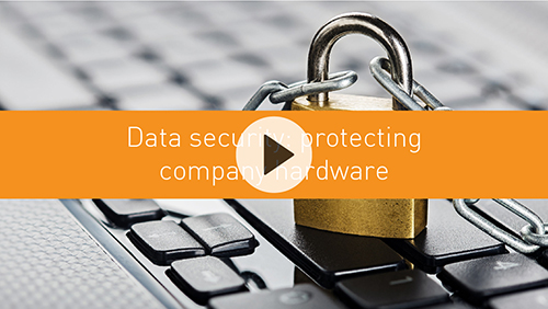 Data security: protecting company hardware