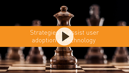 Strategies to assist user adoption of technology