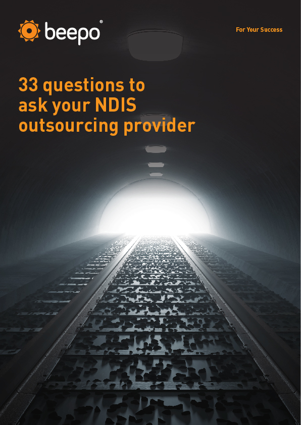 B_eBook cover_33 questions to ask your NDIS outsourcing provider_v1