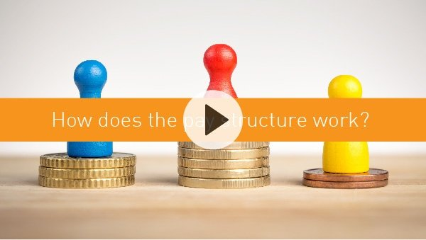 How does the pay structure work?
