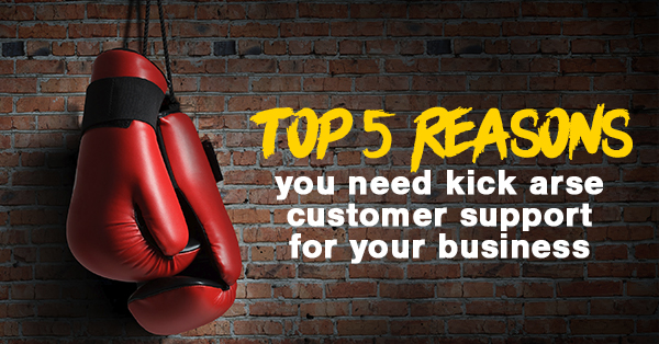 Top 5 reasons you need kick arse customer support for your business_v1