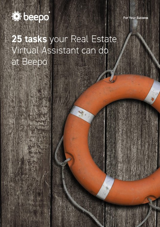 25 Tasks your Real Estate Virtual Assistant can do at Beepo
