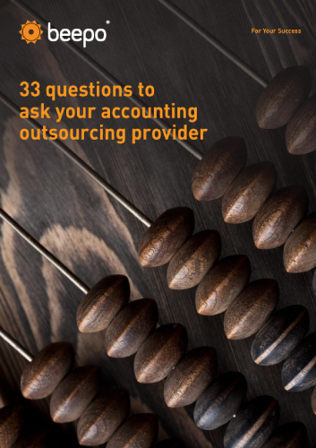 33 Questions to ask your accounting outsourcing provider