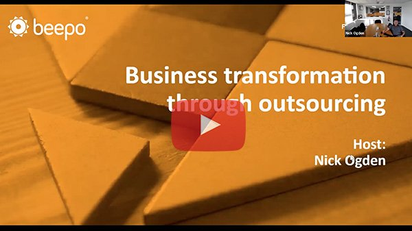 Business transformation through outsourcing