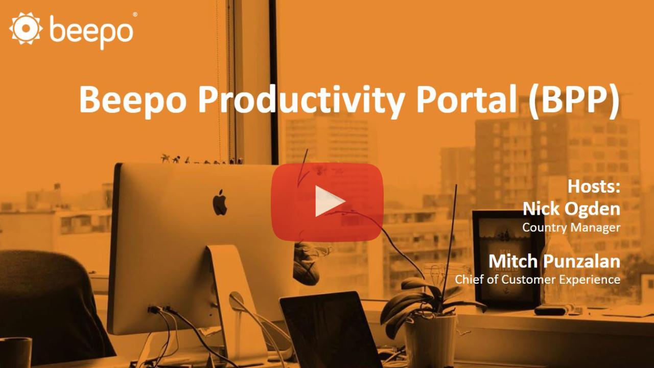 Beepo Productivity Portal
