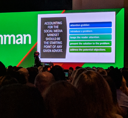 Inman Connect 2019 Social Media Mindset for Advertising