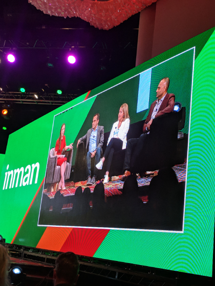 Inman Connect 2019 Panel on stage
