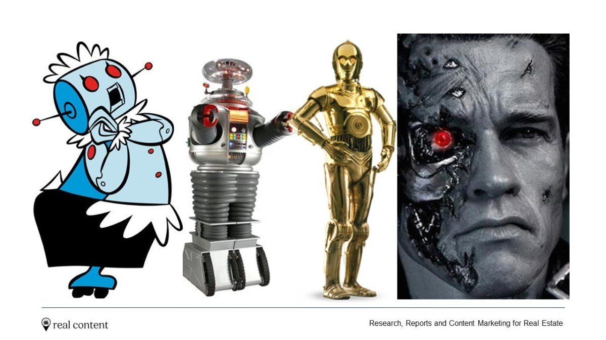Robots through the ages, blog real estate outsourcing